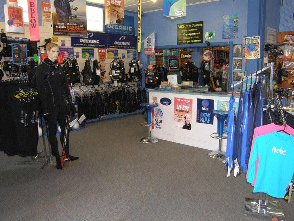 The Home Of PADI SCUBA Diving In Geelong